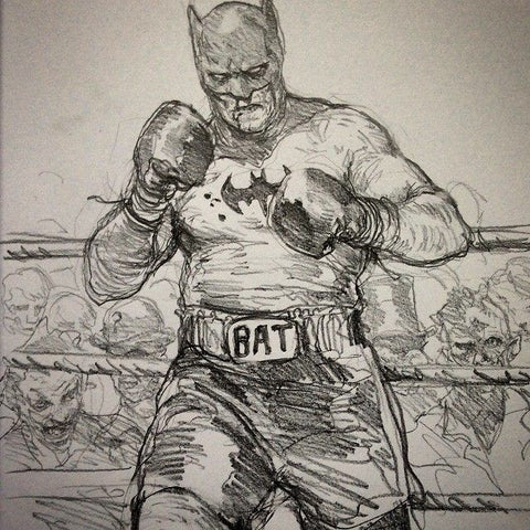 Boxing Batman