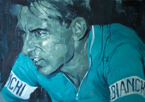 Fausto Coppi A2 Limited Edition Giclee Print