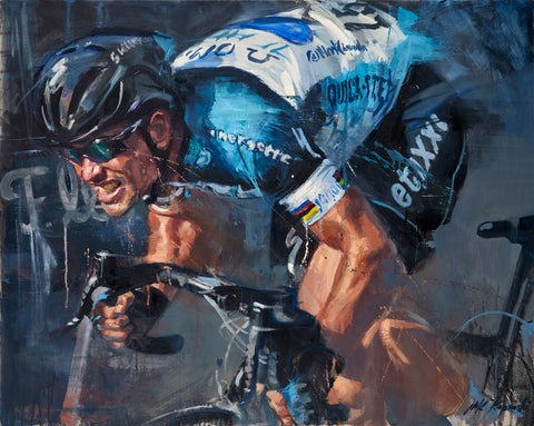 Mark Cavendish A2 Limited Edition Giclee Print