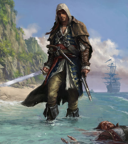 Edward Kenway Assassins Creed.