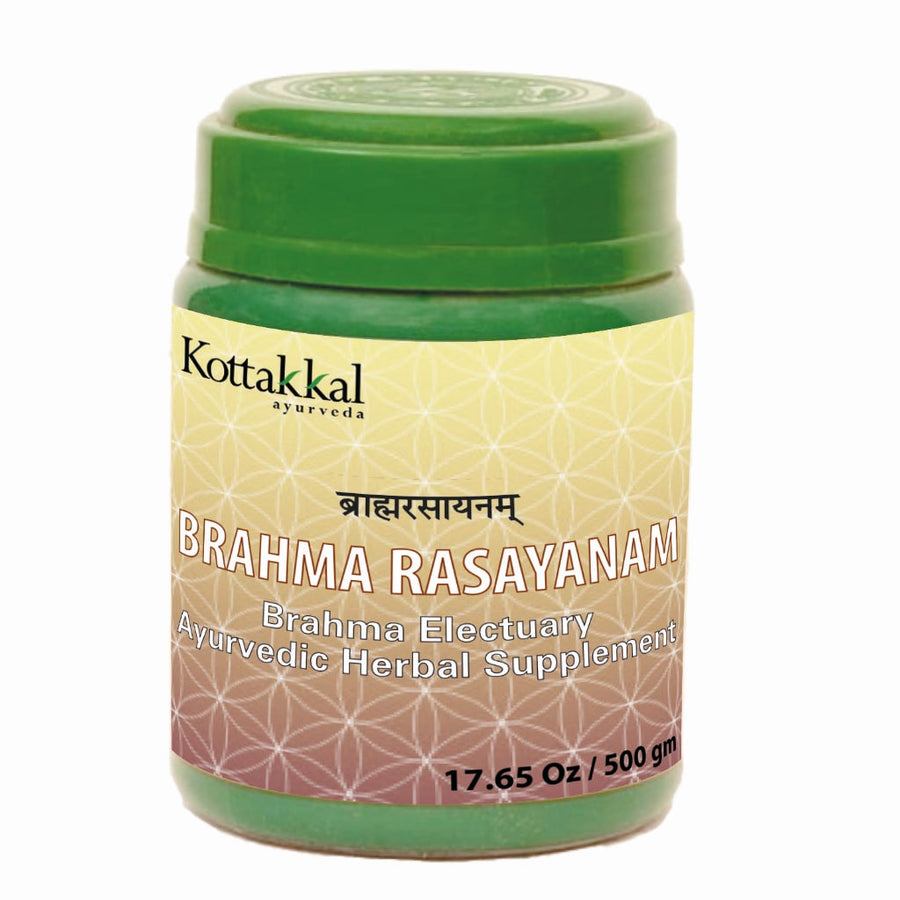 Brahma Rasayanam Bottle, Ayurvedic Product manufactured by Arya Vaidya Sala, Kottakkal Ayurveda for USA Distribution