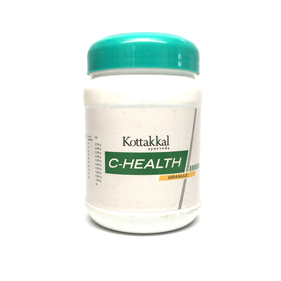 C-Health Granule Bottle, Ayurvedic Product manufactured by Arya Vaidya Sala, Kottakkal Ayurveda for USA Distribution