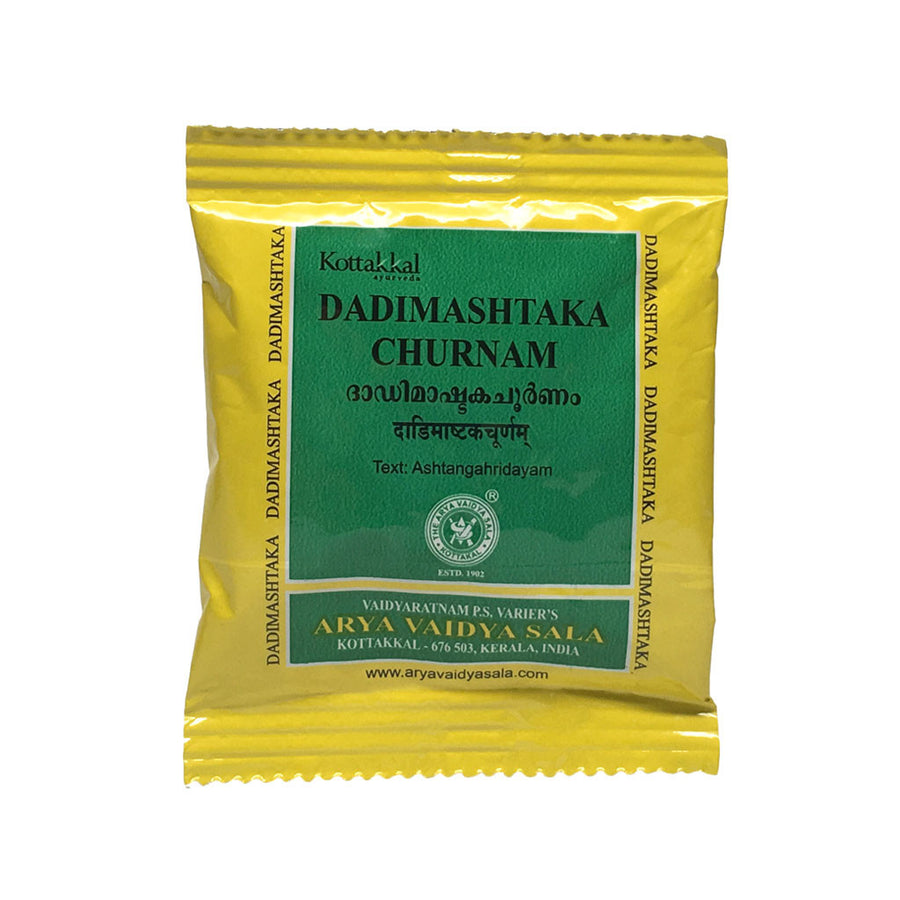 Dadimashtaka Churnam Packet, Ayurvedic Product manufactured by Arya Vaidya Sala, Kottakkal Ayurveda for USA Distribution