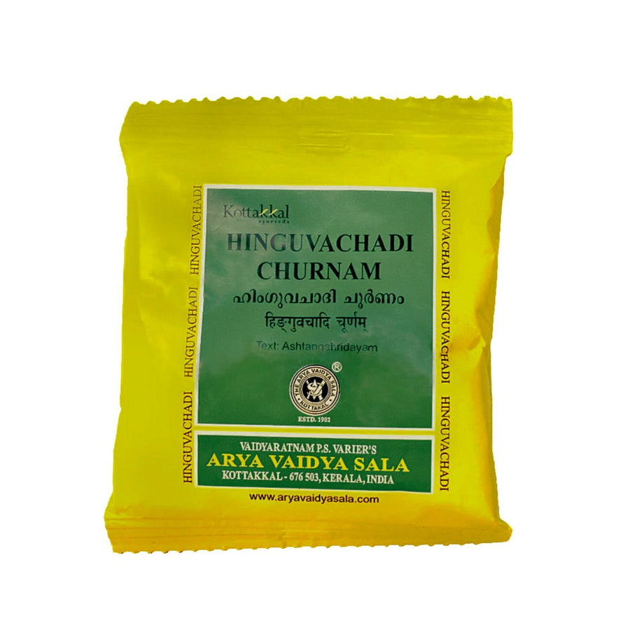Hinguvachadi Churnam Packet, Ayurvedic Product manufactured by Arya Vaidya Sala, Kottakkal Ayurveda for USA Distribution