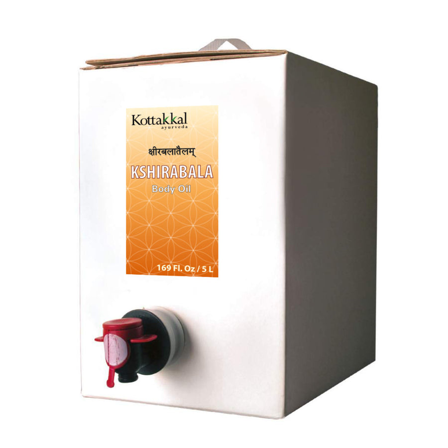 Kshirabala Oil Bottle, Ayurvedic Product manufactured by Arya Vaidya Sala, Kottakkal Ayurveda for USA Distribution