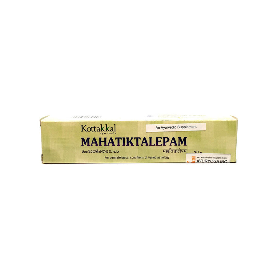 Mahatiktaka Lepam Tube, Ayurvedic Product manufactured by Arya Vaidya Sala, Kottakkal Ayurveda for USA Distribution