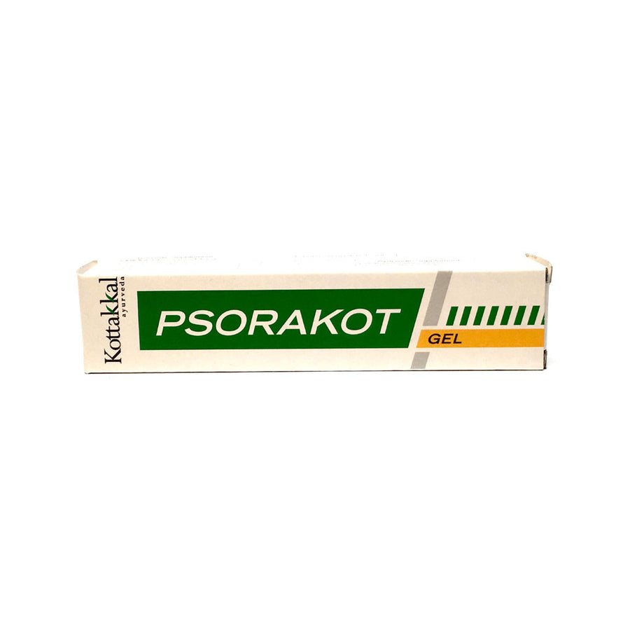 Psorakot Gel Tube in Box, Ayurvedic Product manufactured by Arya Vaidya Sala, Kottakkal Ayurveda for USA Distribution