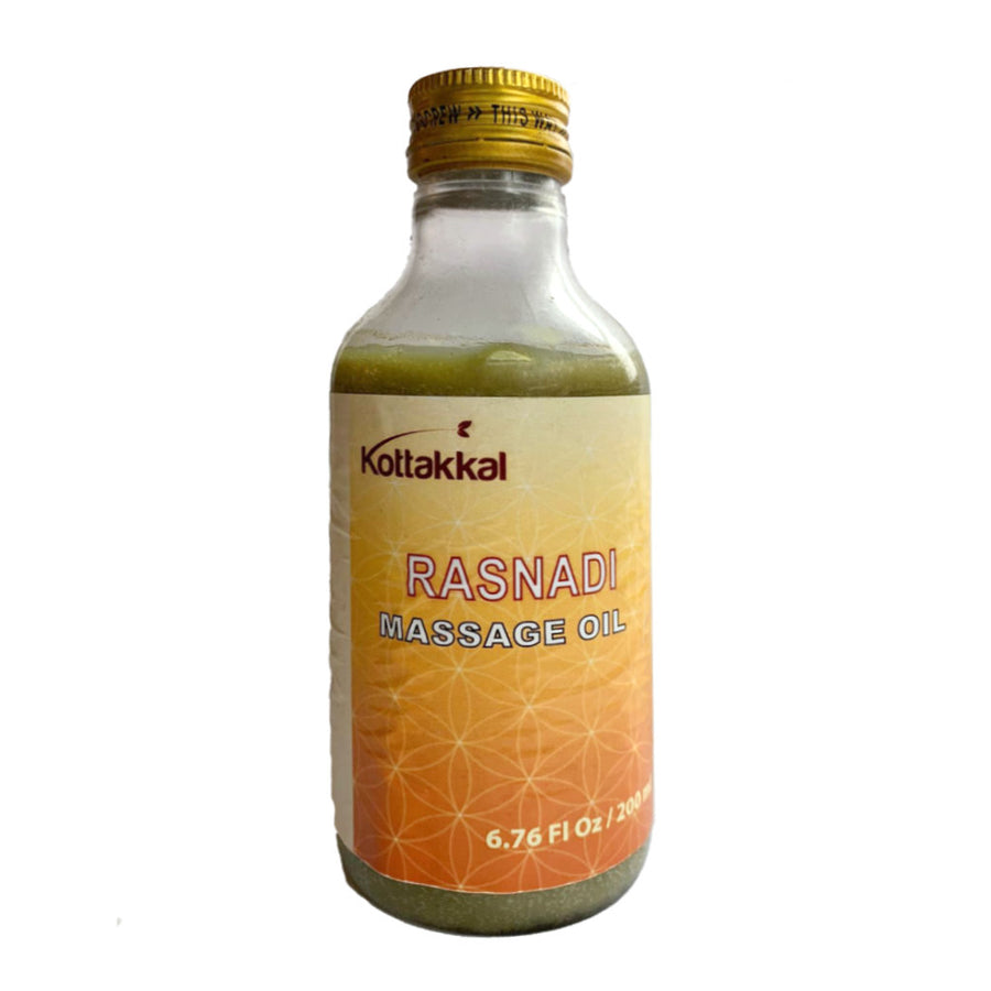 Rasnadi Oil Bottle, Ayurvedic Product manufactured by Arya Vaidya Sala, Kottakkal Ayurveda for USA Distribution