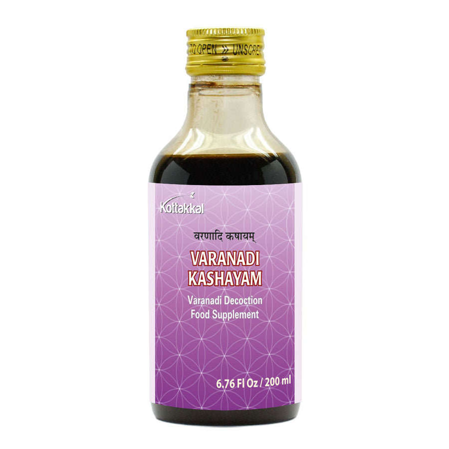 Varanadi Kashayam Bottle, Ayurvedic Product manufactured by Arya Vaidya Sala, Kottakkal Ayurveda for USA Distribution