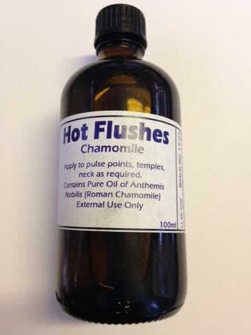 Hot Flushes.  (Chamomile)  100ml Bottle