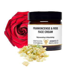 Frankincense and Rose Face Cream  (60ml Jar)