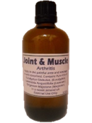Joint and Muscle Oil  (100ml Bottle)