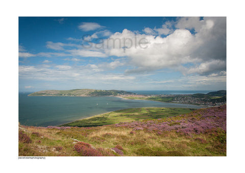 The Great Orme, taken from Conwy Mountain.