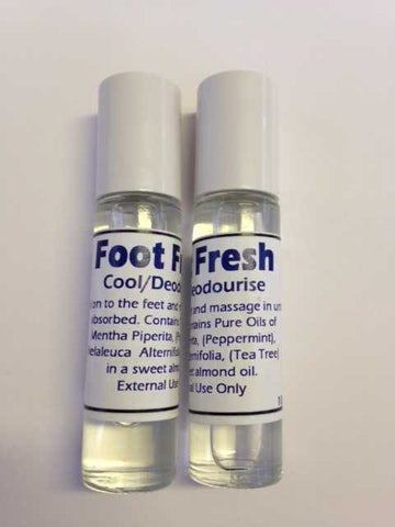 Foot Fresh   (Foot Odour)   10ml Rollerball