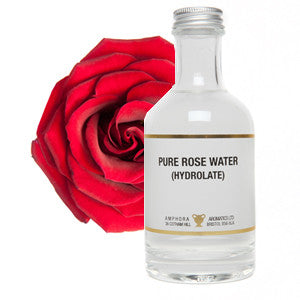 Pure Organic Rosewater   (200ml bottle)