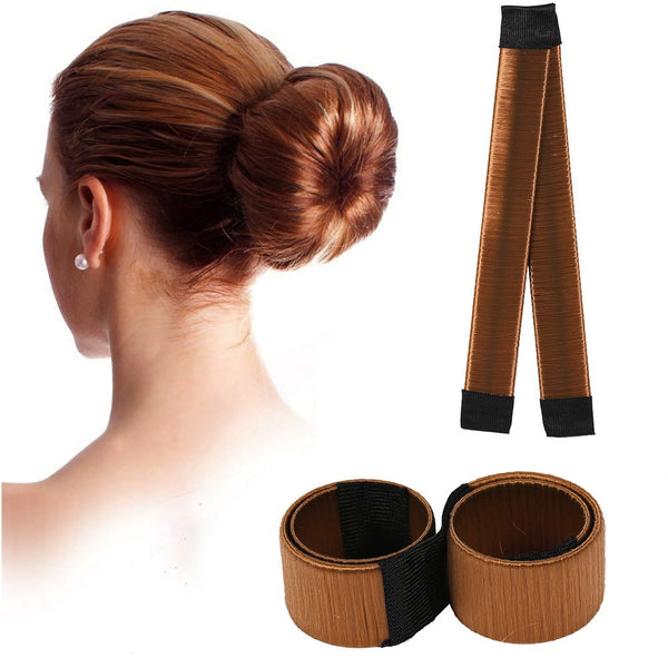 beautimate-Magic Hair Bun Maker 4 Piece Multi Color Hair Styling Tools - beautimate