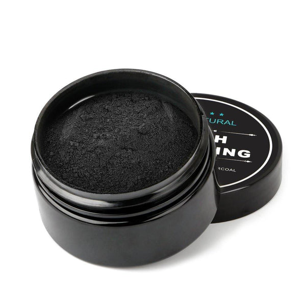 beautimate-Natural Teeth Whitening Activated Charcoal Toothpaste Powder - beautimate