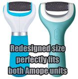 5 Pack Coarse Replacement Roller Heads Compatible With Amope Electronic Foot File