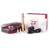 Dr. Pen M5 Derma Pen Gold Rechargable Microneedle System for Anti Aging, Cellulite & Wrinkle Treatment
