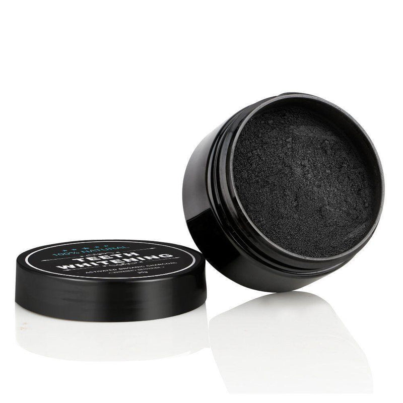 beautimate-2 Pack Natural Teeth Whitening Activated Charcoal Toothpaste Powder - beautimate