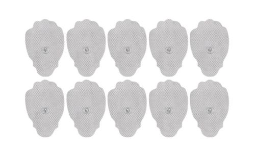 beautimate-100 or 200 Bulk Packed TENS Unit Pulse Massager Replacement Paw Pads - beautimate