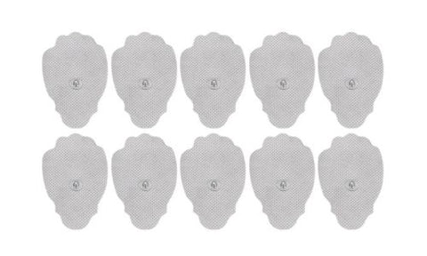 100 or 200 Bulk Packed TENS Unit Pulse Massager Replacement Paw Pads