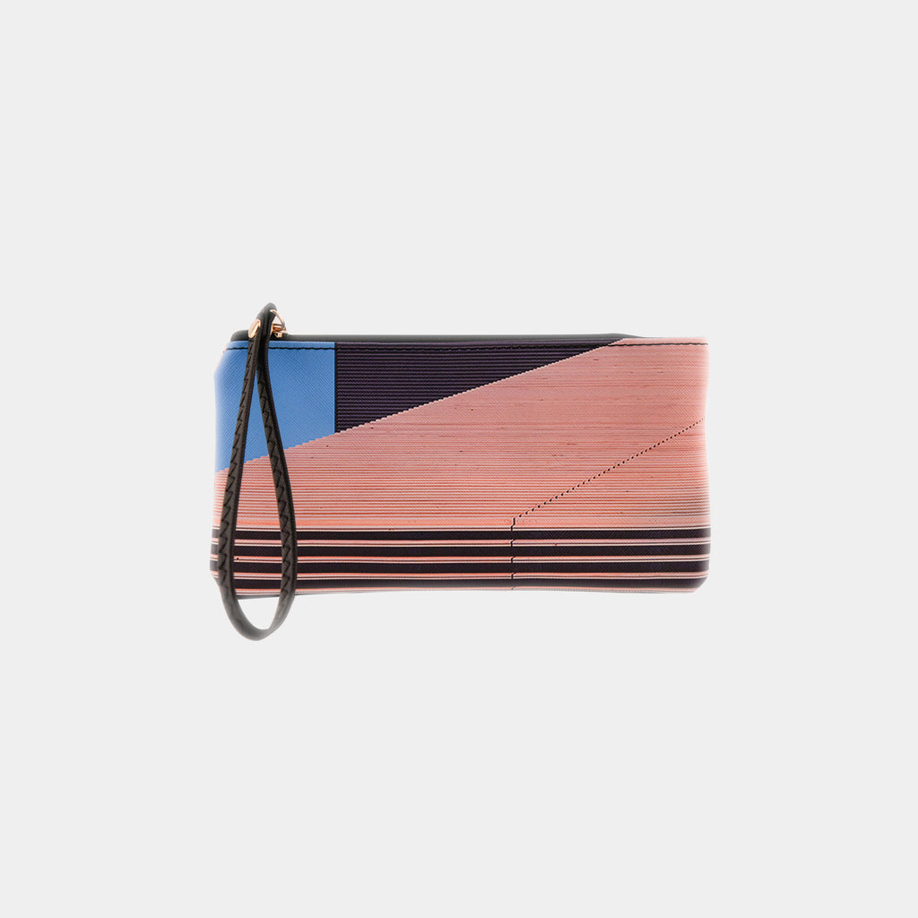 Anchorage Museum Facade Wristlet Wallet
