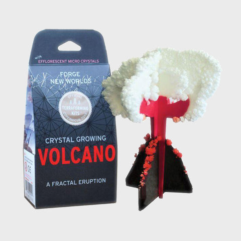 Crystal Growing: Volcano