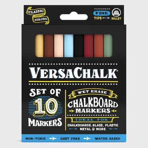 Chalk Markers - Classic Fine - 10 Set
