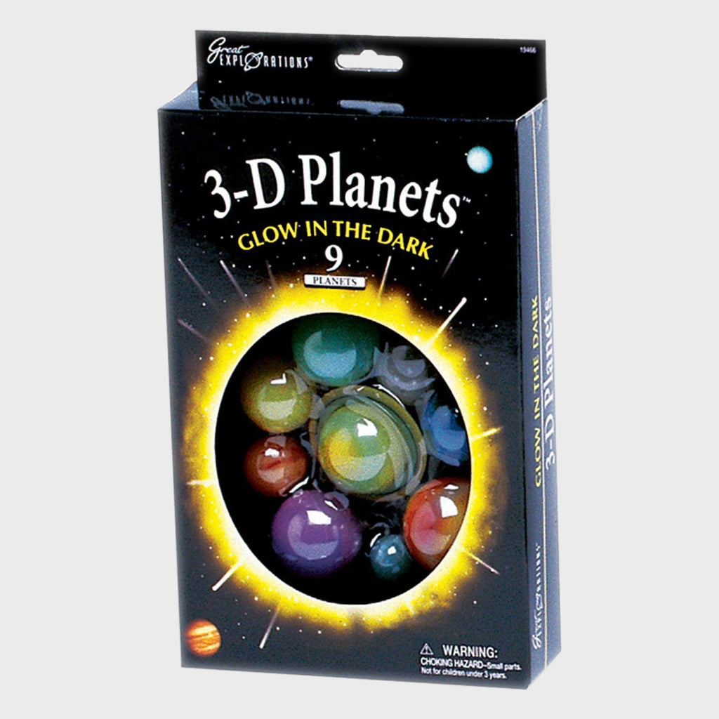 3-D Planets Glow In The Dark