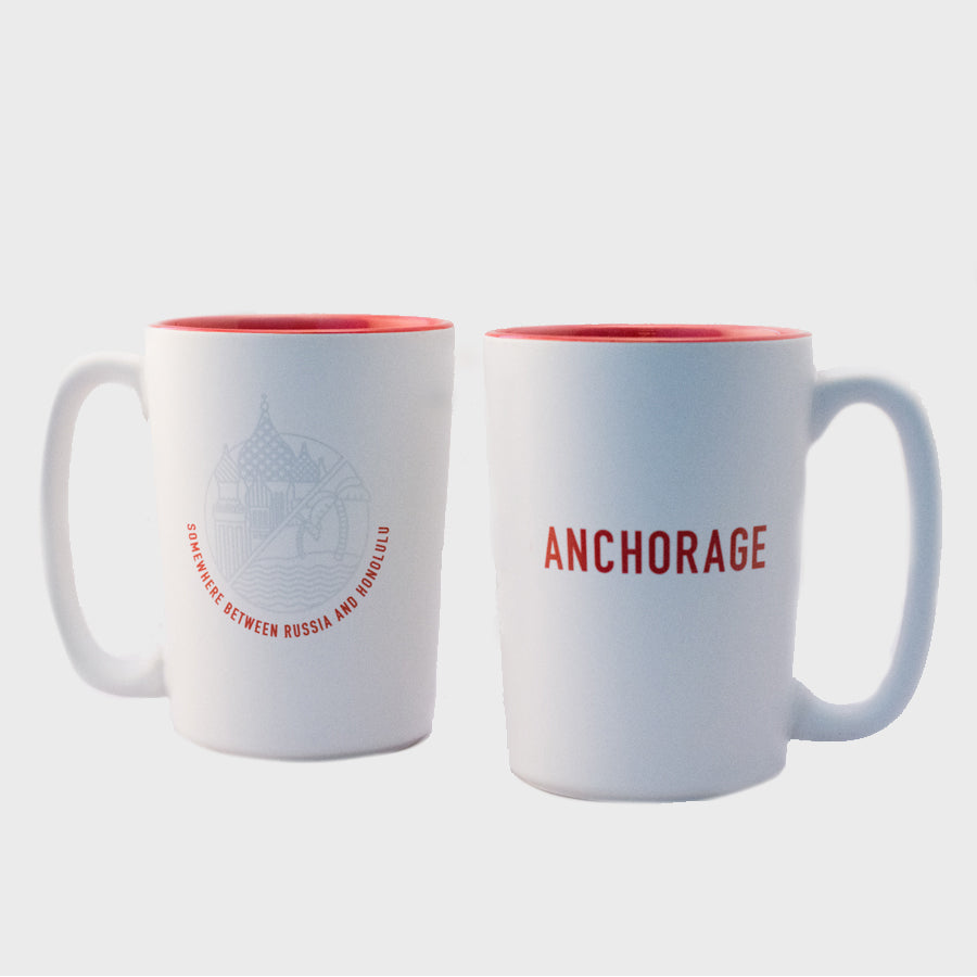 Mug - Anchorage, Somewhere Between Russia and Honolulu - 15 oz