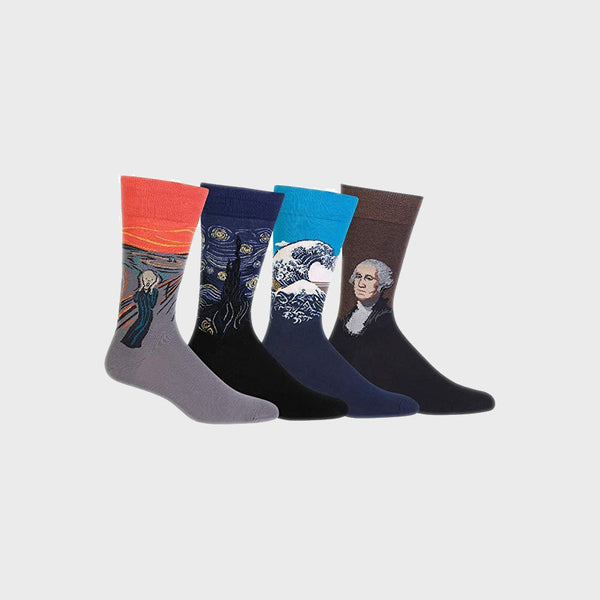 Hot Sox - Men's Museum Collection Artist Socks