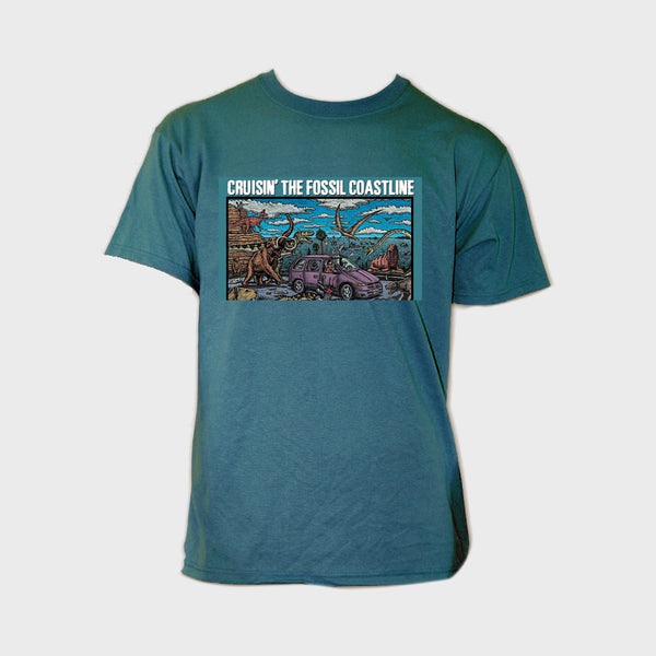 "T-Shirt: Adult ""Cruisin The Fossil Coastline"""