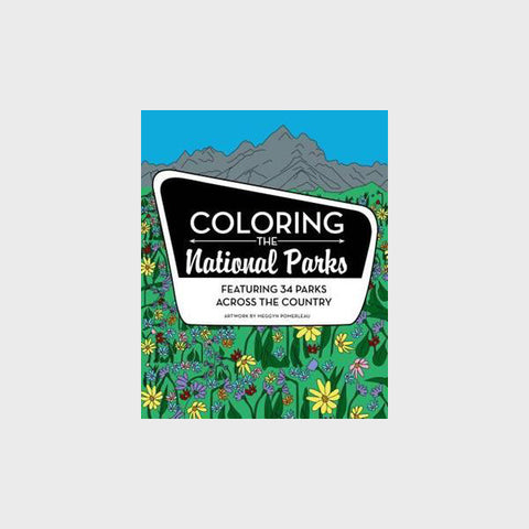 Coloring the National Parks - Coloring Book