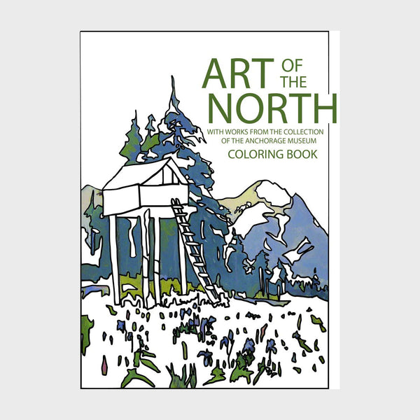 Art of the North Coloring Book