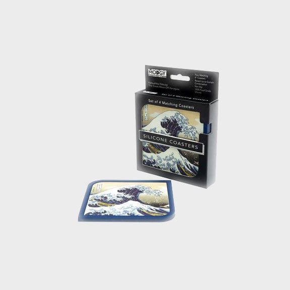 4 Coaster Set - The Great Wave - CR7010