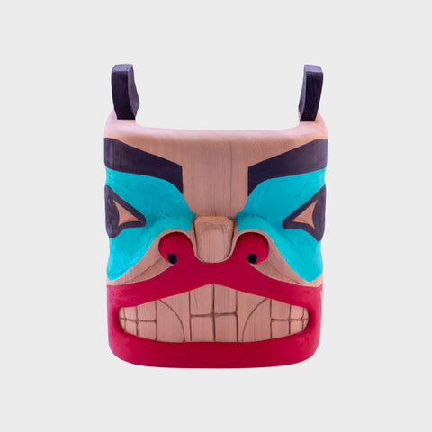 Red Cedar Bear Mask