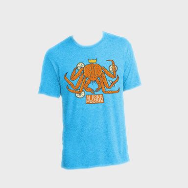 T-Shirt: Alaska Foodie - King Crab
