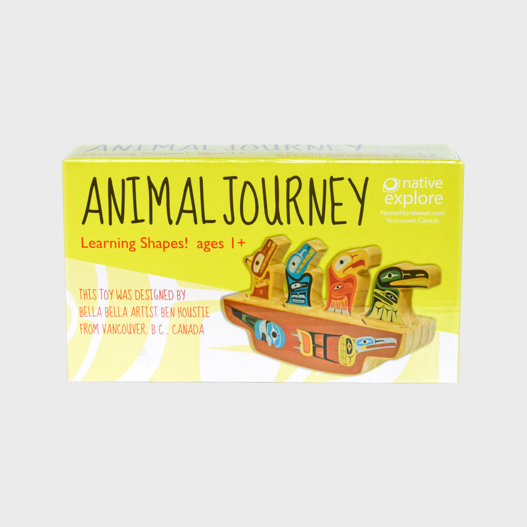 Learning Shapes Animal Journey by Ben Houstie
