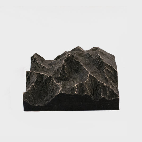 Denali Mountain - 3D Printed