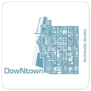 Anchorage Neighborhood Coasters