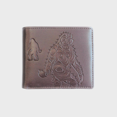 Embossed Wallet - Sasquatch by Francis Horne Sr.