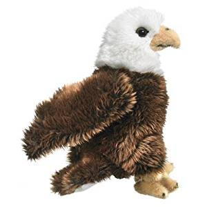 "Bald Eagle Plush, 9"" by Wildlife Artists"