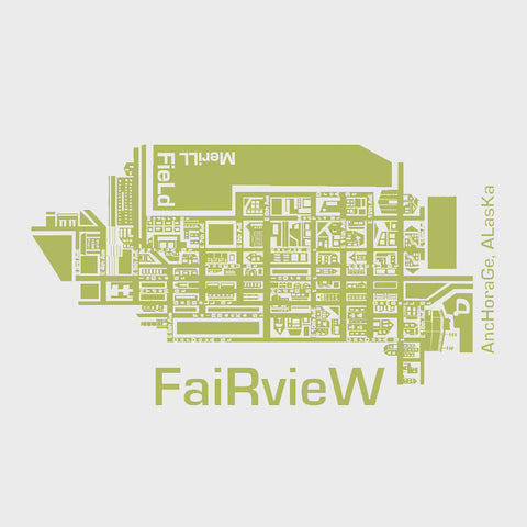 Map Wood Plaque: Fairview