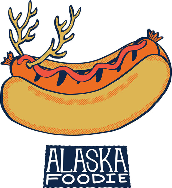 Alaska Foodie Postcard Book