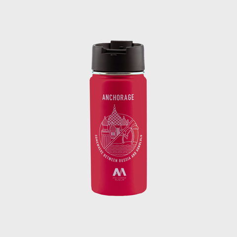 Hydro Flask 16oz Thermos - Somewhere Between Russia and Honolulu