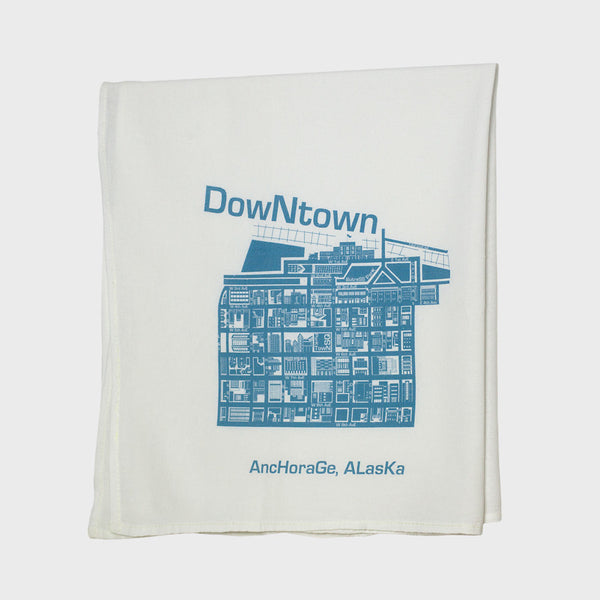 Set of Four Anchorage Neighborhood Tea Towels