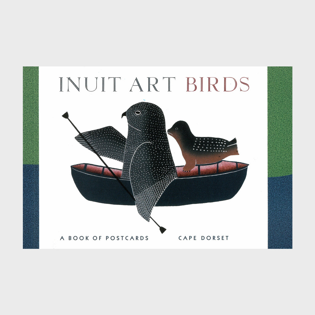 Cape Dorset Inuit Art Birds - Postcard Book