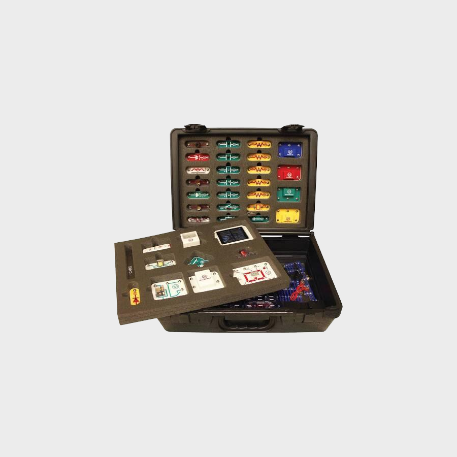 Electronic Snap Circuits - 750R with Educational Deluxe Case