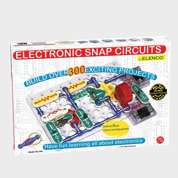 45bbec1a8f53 Electronic Snap Circuits - 300 Projects – Anchorage Museum Store